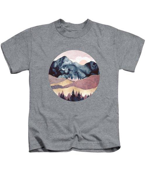 Mauve Vista Kids T-Shirt