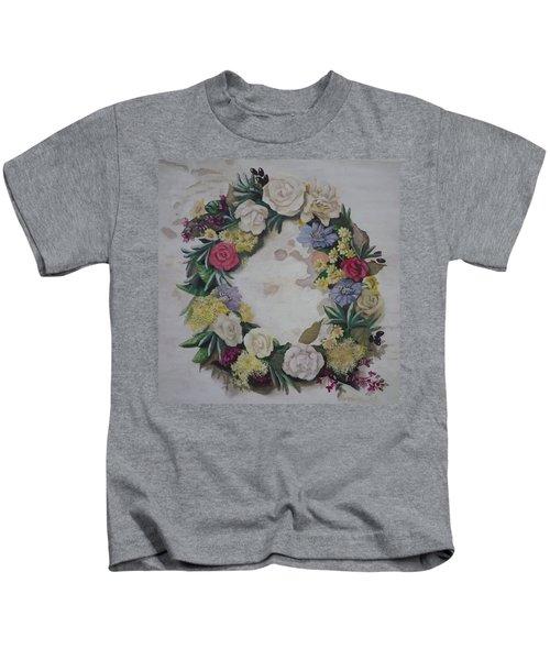 May Wreath Kids T-Shirt
