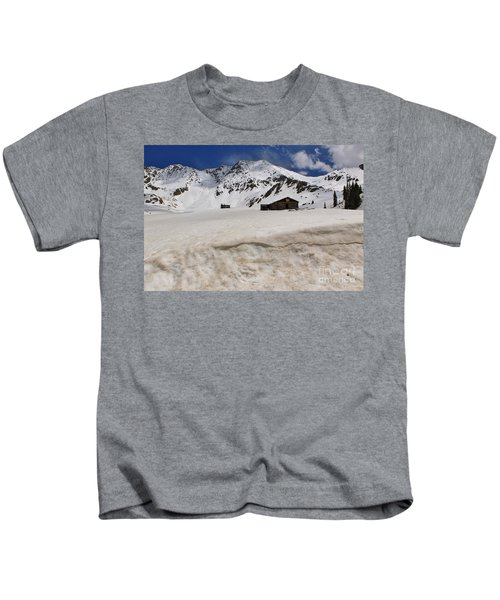 Mayflower Gulch Winter 5 Kids T-Shirt