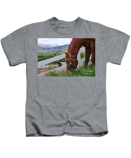 Mccool Grazing Kids T-Shirt