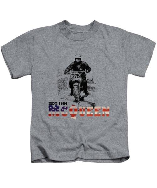 Mcqueen Isdt 1964 Kids T-Shirt