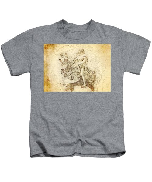 Medieval Europe Kids T-Shirt
