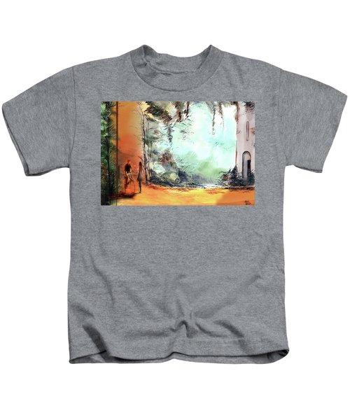 Meeting On A Date Kids T-Shirt