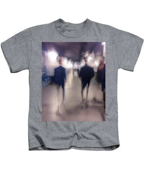 Men In Suits Kids T-Shirt