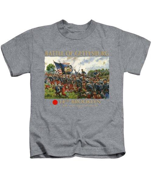 Men Of Brooklyn Kids T-Shirt by Mark Maritato