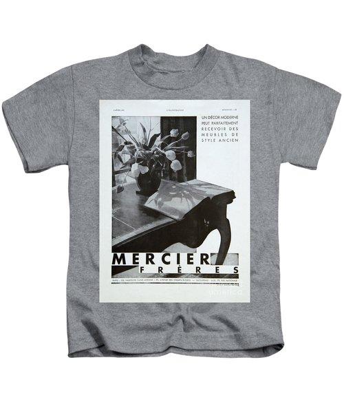 Mercier #8699 Kids T-Shirt