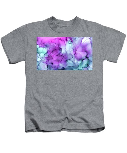Mermaid Abstract Ink Painting Kids T-Shirt