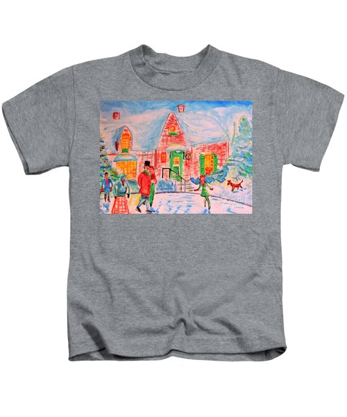 Merry Christmas And Happy Holidays Kids T-Shirt