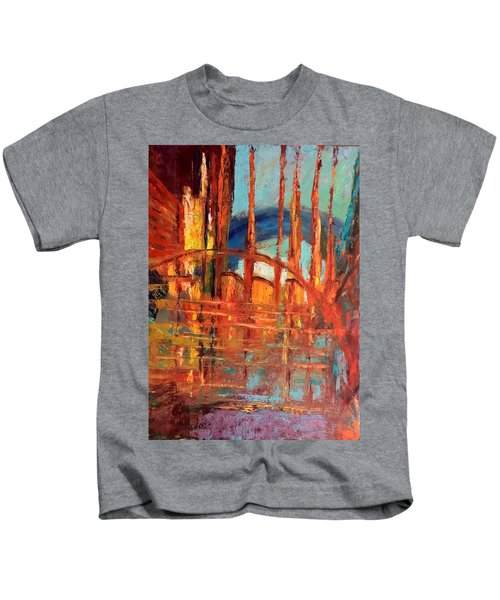 Metropolis In Space Kids T-Shirt