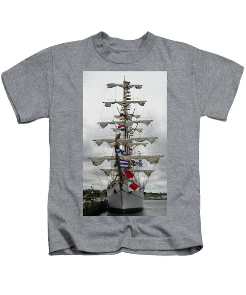 Mexican Navy Ship Kids T-Shirt