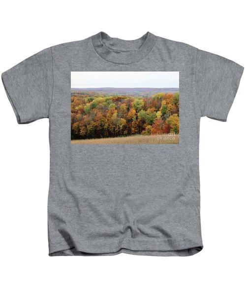 Michigan Autumn Kids T-Shirt