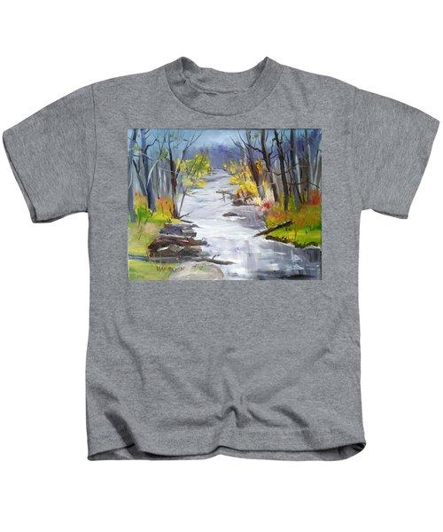Michigan Stream Kids T-Shirt