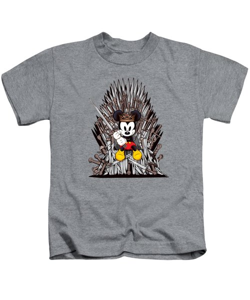 Mickey Thrones Kids T-Shirt