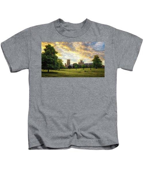 Midsummer Evening In Ely Kids T-Shirt