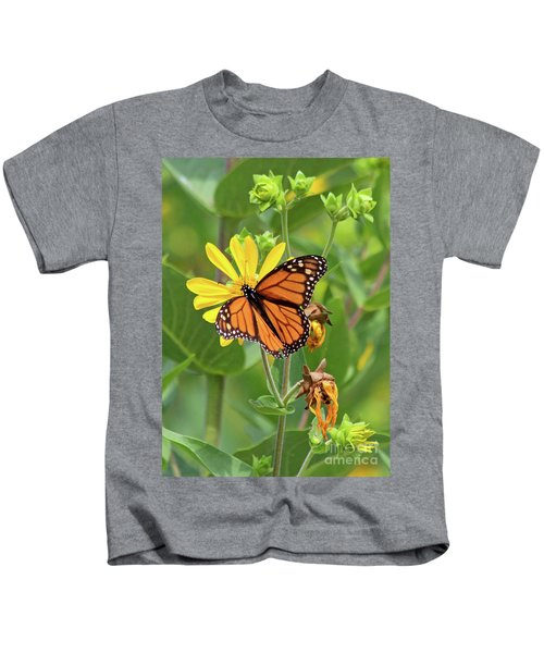 Mighty Monarch   Kids T-Shirt