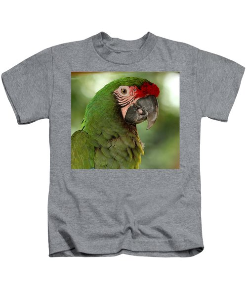 Military Macaw Kids T-Shirt