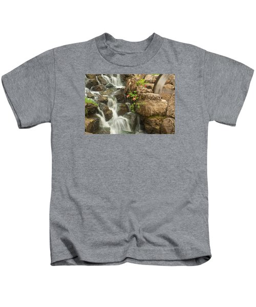 Mill Wheel With Waterfall Kids T-Shirt