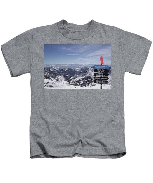 Mineral Basin Kids T-Shirt
