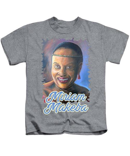 Miriam Makeba Kids T-Shirt