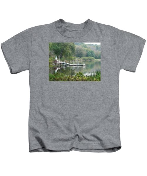 Mirrored Pier Kids T-Shirt