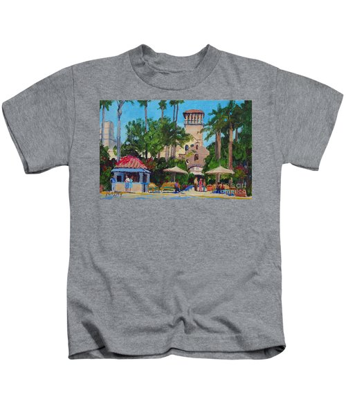 Mission Inn On A Sunny Day Kids T-Shirt