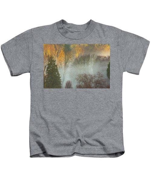 Mist In The Park Kids T-Shirt