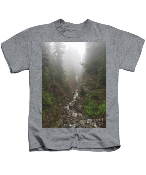 Misted Waterfall Kids T-Shirt