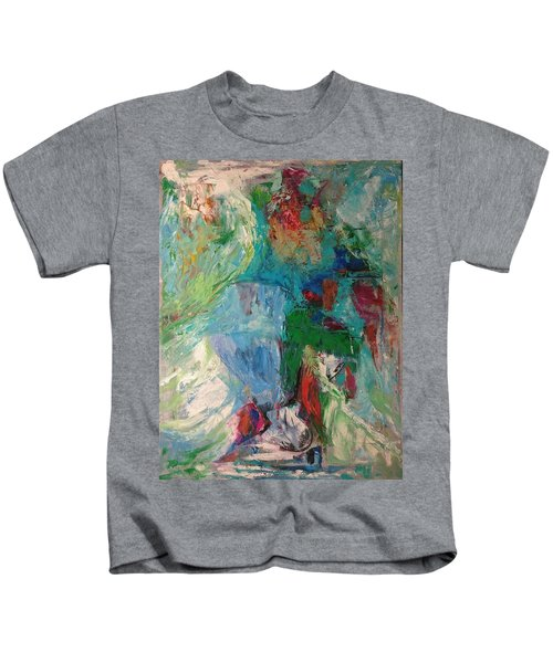 Misty Depths Kids T-Shirt