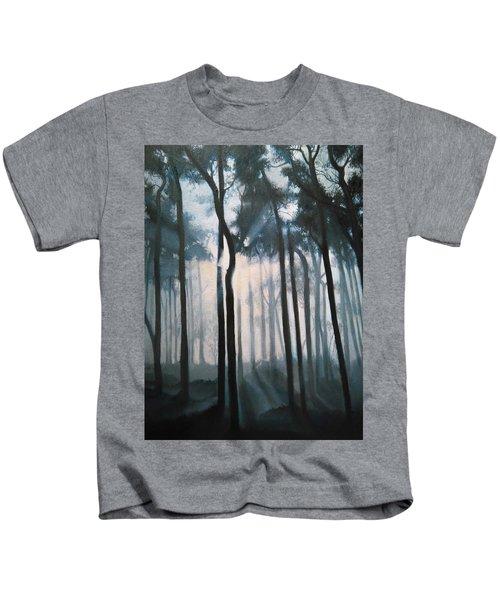 Misty Woods Kids T-Shirt