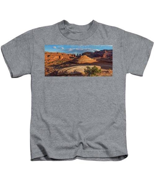 Moab Back Country Panorama Kids T-Shirt