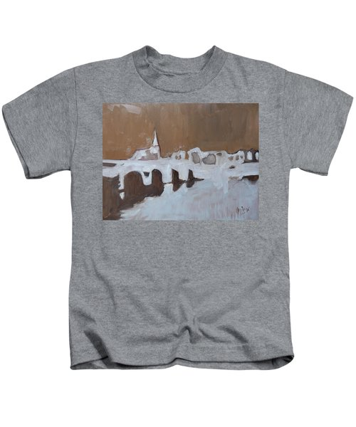 Moasbrogk In Brown Tints Kids T-Shirt