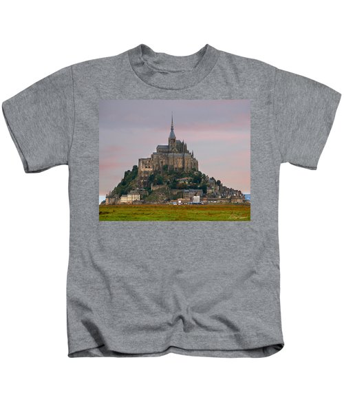 Mont Saint Michel Kids T-Shirt