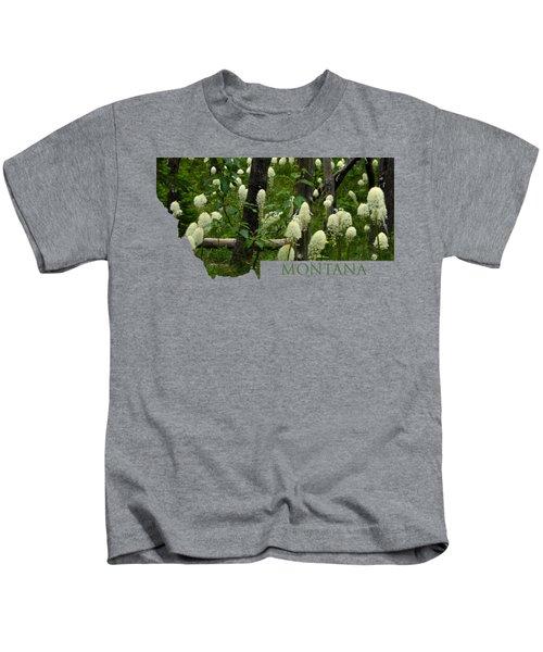 Montana Bear Grass Kids T-Shirt