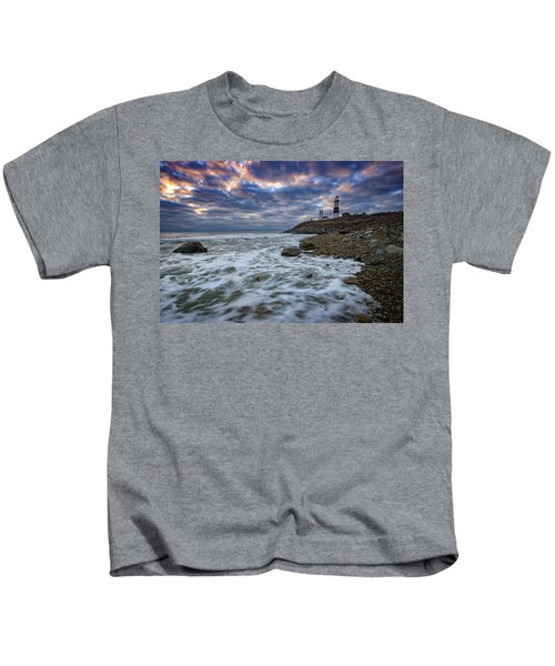 Montauk Morning Kids T-Shirt