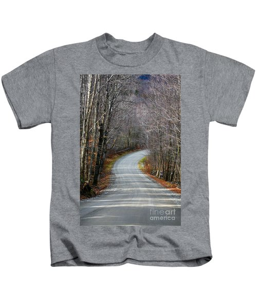 Montgomery Mountain Rd. Kids T-Shirt