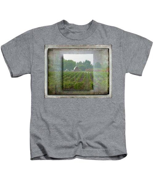 Montinore Winery Kids T-Shirt