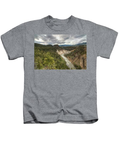 Moody Yellowstone Kids T-Shirt