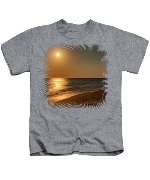 Moonscape 3 Kids T-Shirt