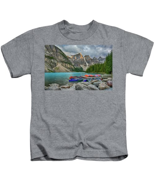 Moraine Lake Kids T-Shirt