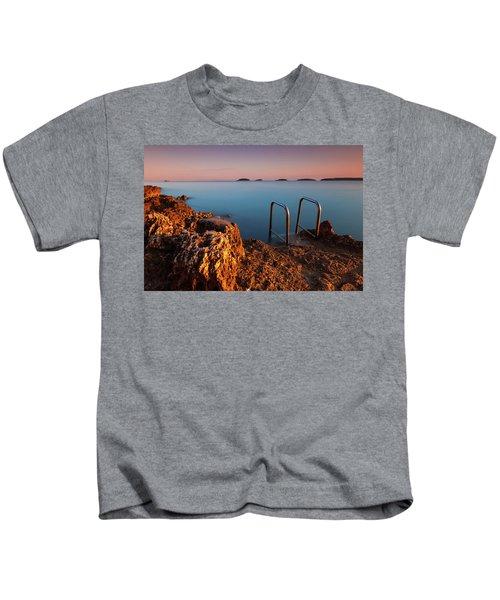 Morning Colors Kids T-Shirt