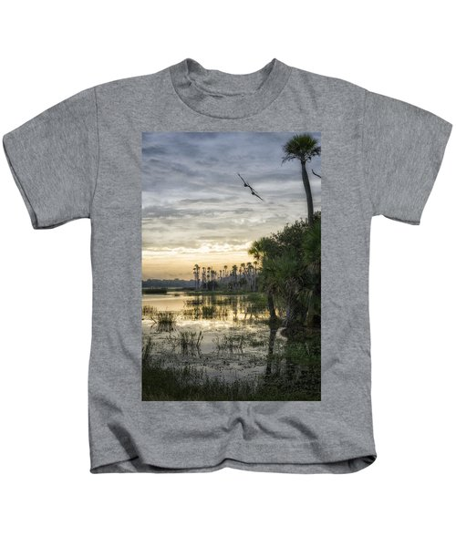 Morning Fly-by Kids T-Shirt