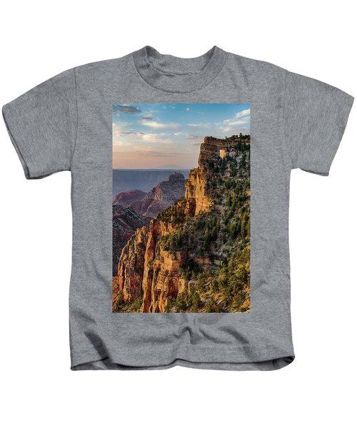 Morning Glow On Angels Window Kids T-Shirt
