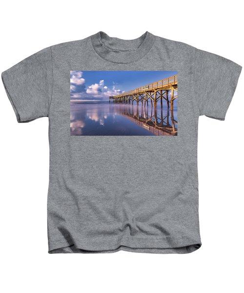 Morning Gold - Isle Of Palms, Sc Kids T-Shirt