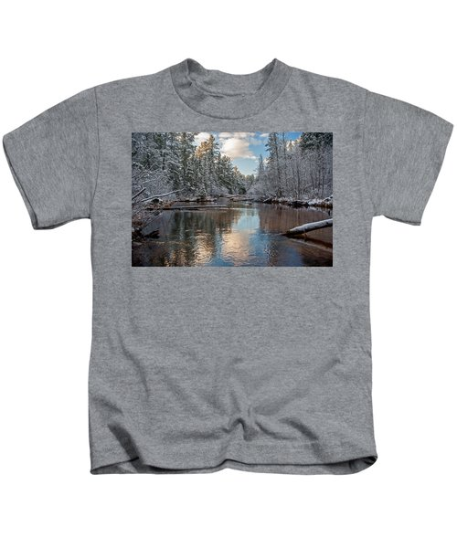 Morning Light On Grand Marais Creek Kids T-Shirt