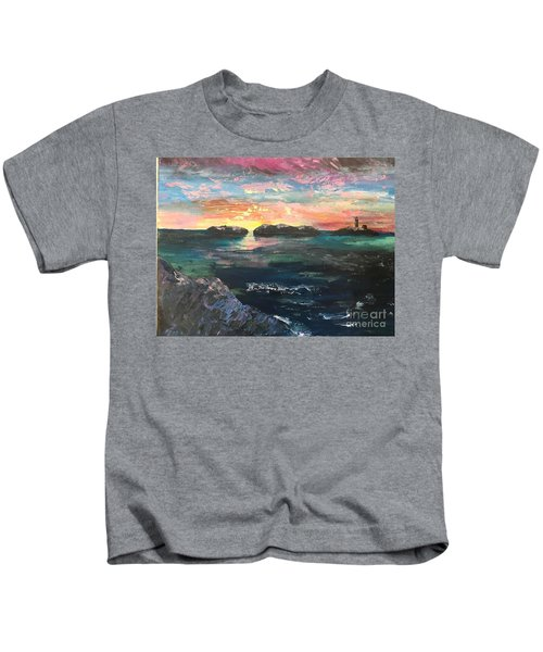 Morning Maine Kids T-Shirt