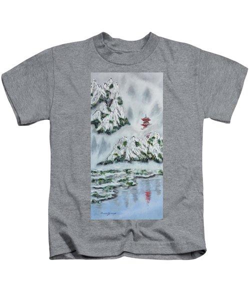 Morning Mist 1 Kids T-Shirt