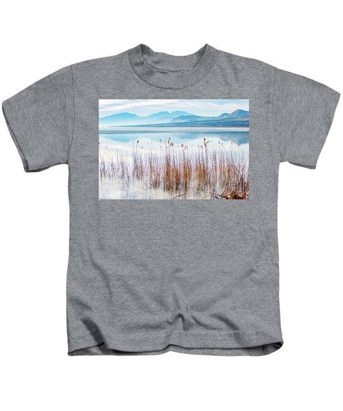 Morning Mist On The Lake Kids T-Shirt