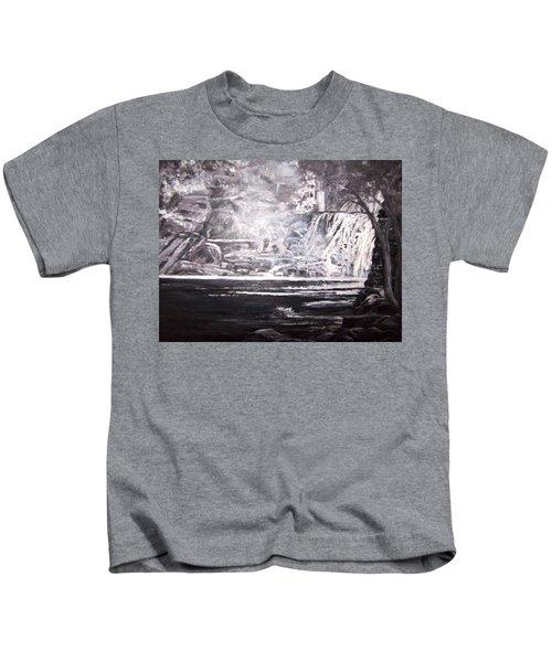 Morning Mist -theresa Falls Kids T-Shirt