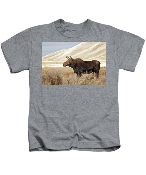Morning Moose Kids T-Shirt