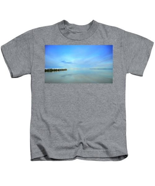 Morning Sky Reflections Kids T-Shirt